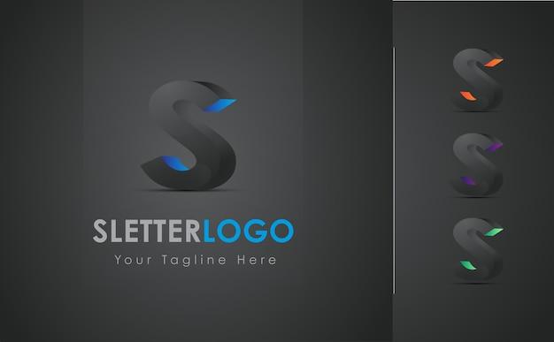 Logo colorato della lettera s.