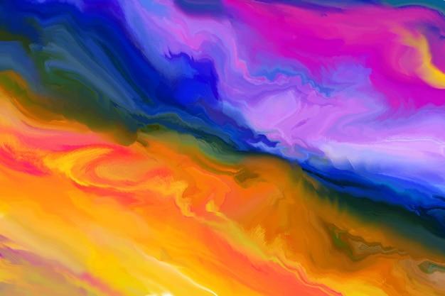 Sfondo dinamico fumo colorato
