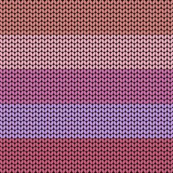 Priorità bassa lavorata a maglia a strisce variopinta, illustrazione