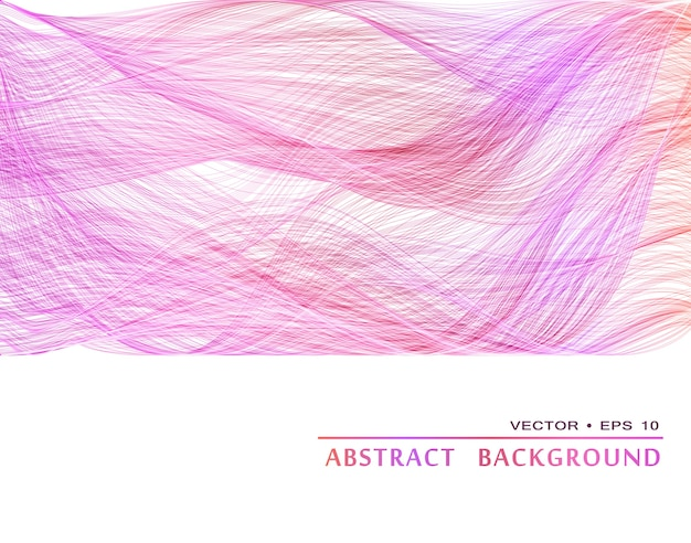 Sfondo astratto ondulato colorato, tamplate per brochure di design e sito
