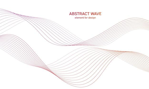 Equalizzatore traccia elemento wave colorato