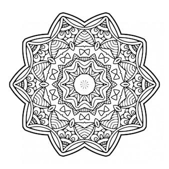 Mandala del libro da colorare