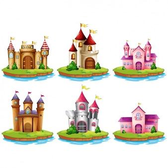 Colorato castelli collezione