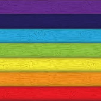 Tavole colorate sfondo illustrazione vettoriale.