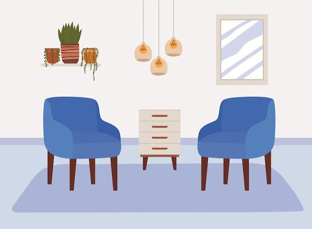 Design confortevole per la casa