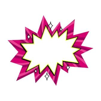 Comic boom palloncino