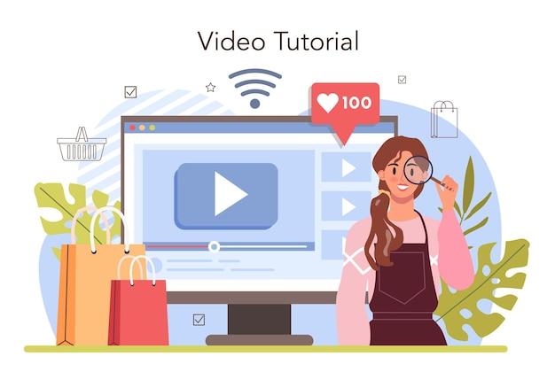 Servizio o piattaforma online di processo di attività commerciali