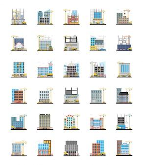 Icone ortogonali dell'armatura commerciale