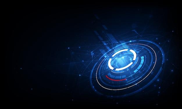 Tecnologia di comunicazione per il business di internet. rete mondiale e telecomunicazioni globali