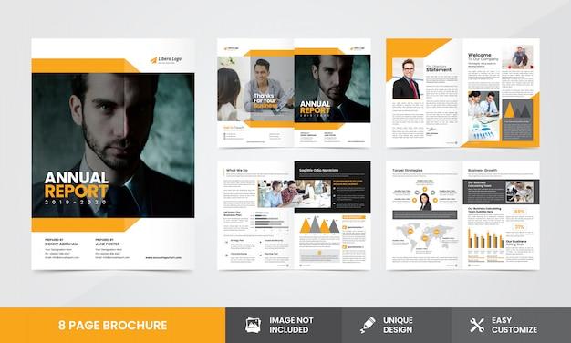 Modello brochure - rapporto annuale dell'azienda