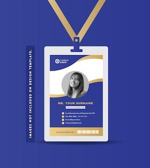 Design della carta d'identità dell'azienda | biglietto da visita e biglietto da visita personale