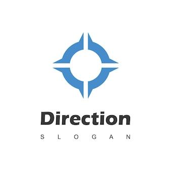 Ispirazione per il design del logo della bussola