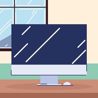 Apparecchio monitor per computer