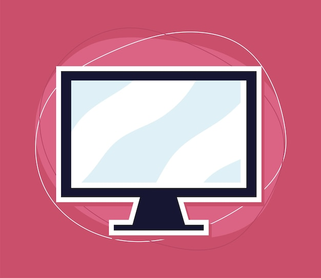 Dispositivo monitor del computer