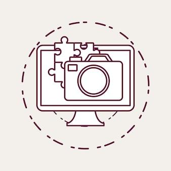 Icona del monitor del computer