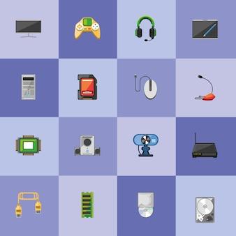 Componenti e apparecchiature per computer