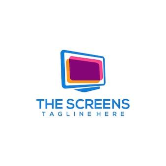 Logo dello schermo del computer
