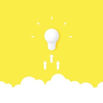 Il concetto di una grande idea e creatività