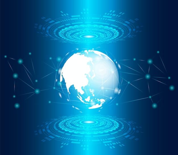 Priorità bassa di tecnologia digitale di concetto