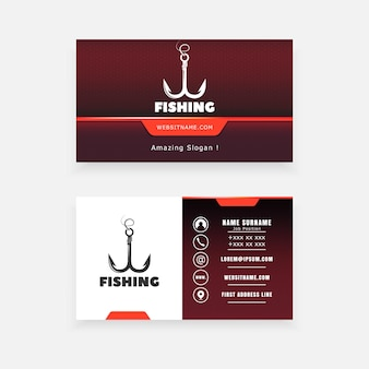 Concetto di attrezzi da pesca vector