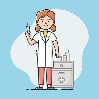 Concetto di personale medico, sanità e medicina