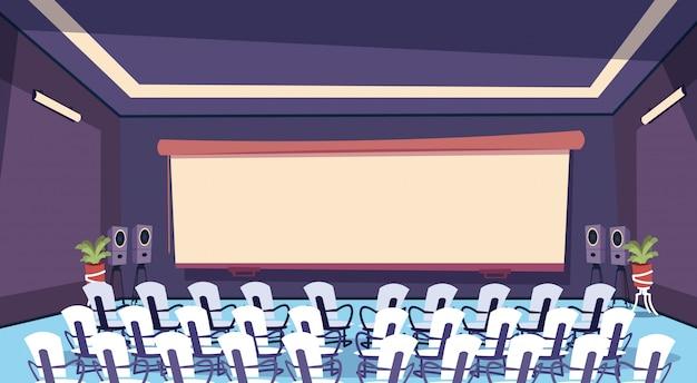 Spazio di lavoro interno di sala riunioni