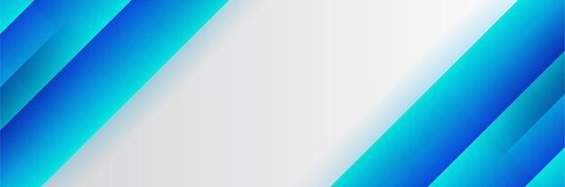 Modello di vettore di conferenza. astratto sfondo blu punteggiato per invito alla conferenza it, riunione d'affari. banner per l'annuncio sui social media