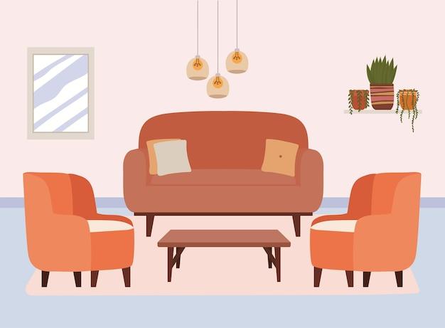 Design confortevole della casa