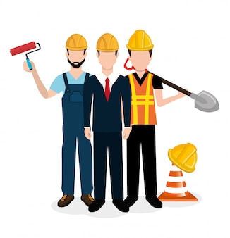 Progettazione di attrezzature per l'edilizia