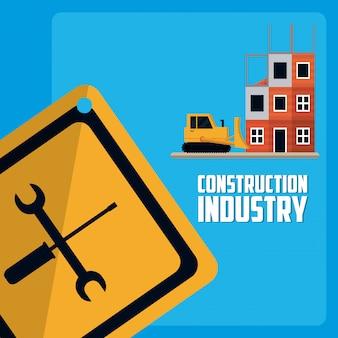 Concetto di industria edile