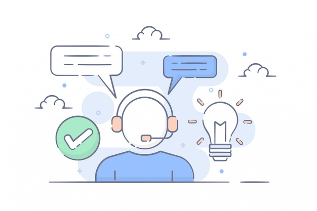 Contattare l'assistenza e l'illustrazione del servizio clienti