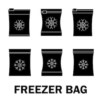 Contenitori e sacchetti per semilavorati alimentari surgelati sottovuoto per il congelamento degli alimenti