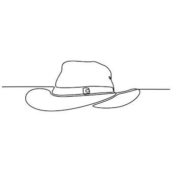 Disegno a linea continua di occhiali da nuoto illustrazione vettoriale