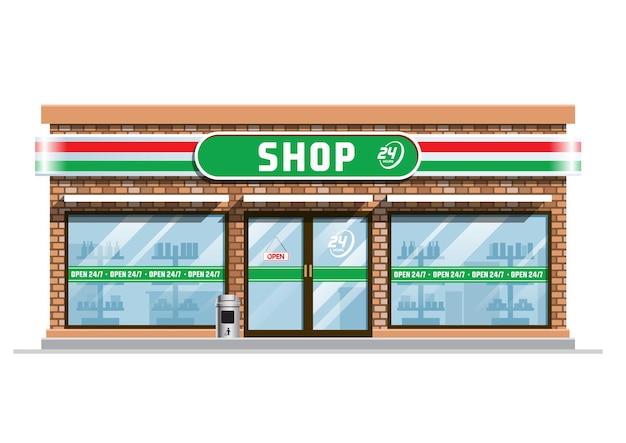 Edificio del negozio di alimentari