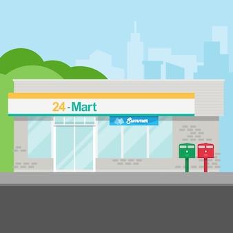Minimarket in città