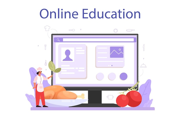 Servizio o piattaforma online specializzato in cucina o in cucina