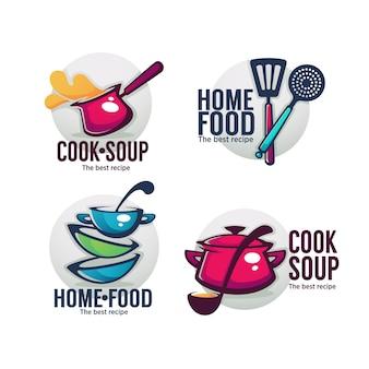 Cucina zuppa e cibo casalingo