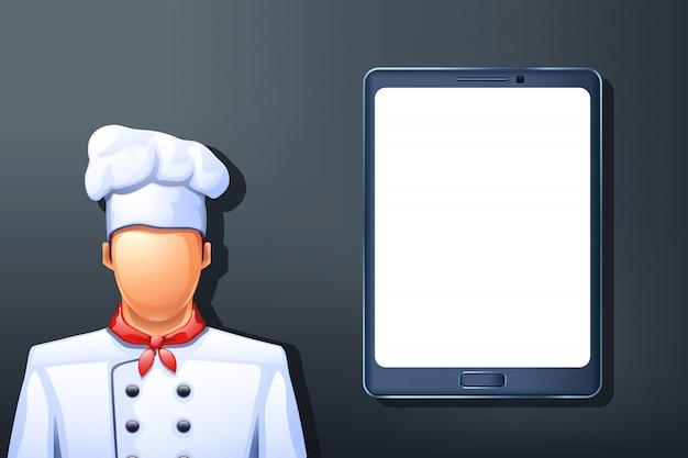 Cook tablet