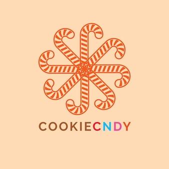 Logo di candy cookie
