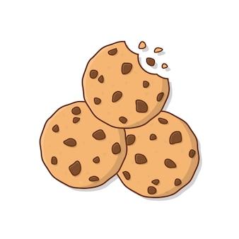 Illustrazione di biscotti.