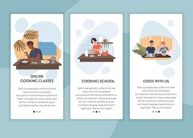 Corsi di cucina online lezioni di preparazione cibo