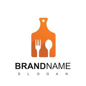 Modello di logo di cucina