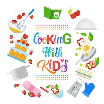 Cucinare con bambini bambini corsi di cucina