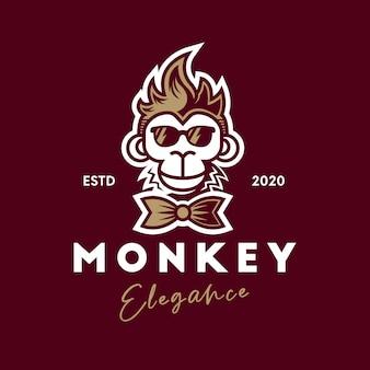 Cool logo scimmia