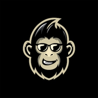 Mascotte scimmia fresca