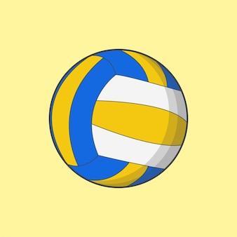 Fantastica illustrazione di sport di pallavolo