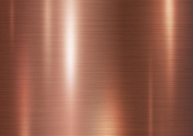 Illustrazione di rame di vettore del fondo di struttura del metallo