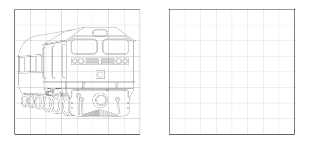 Copia l'immagine del treno