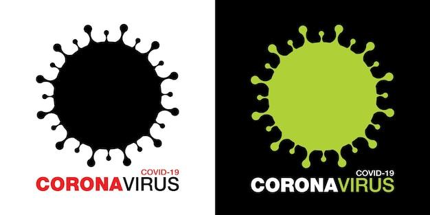 Coronavirus covid19 icon set novel coronavirus 2019 simbolo ncov arresta l'infezione da coronavirus