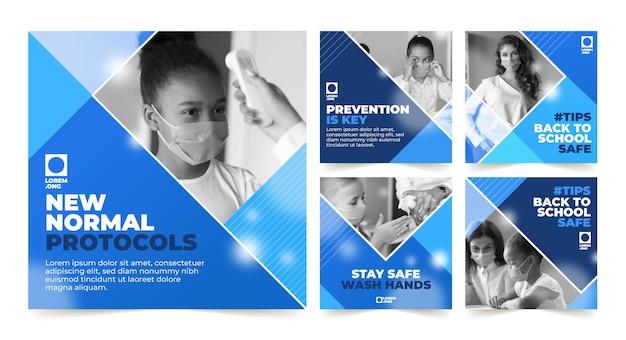 Coronavirus raccolta post instagram